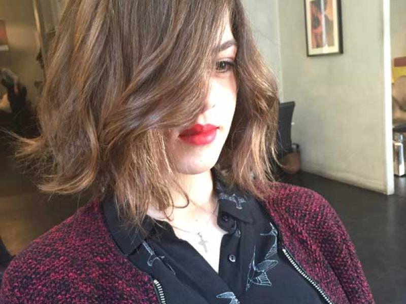 coiffure pratique ombre